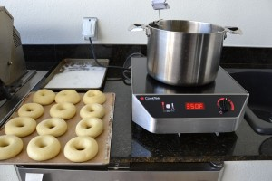 Doughnut Frying Set Up