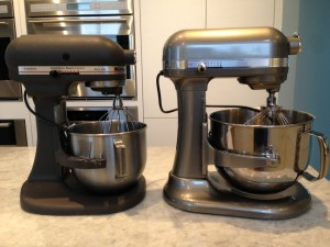 Kitchen Aid Mixers      Then & Now